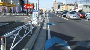 自転車レーン-2